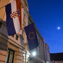Kroatija pradeda pirmininkavimo Europos Sąjungai pusmetį