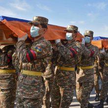 Armėnijos ministerija patvirtino 2 317 karių žūtį Kalnų Karabache