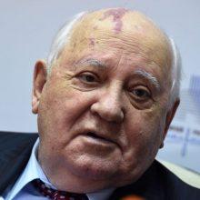 M. Gorbačiovas: V. Putinas ir J. Bidenas turėtų siekti labiau riboti branduolinius ginklus