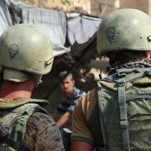 Rusija nuosekliai stiprina karinius pajėgumus Karaliaučiaus srityje