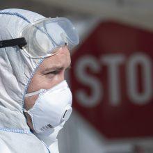 A. Veryga atskleidė, kada prognozuojamas užsikrėtimo koronavirusu pikas