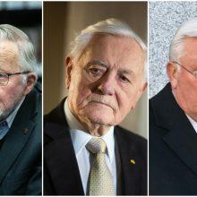 Reikšmingiausios 30-mečio asmenybės: V. Landsbergis, V. Adamkus ir A. Brazauskas
