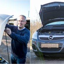 """Po automobilio remonto Šilainiuose toli nenuvažiavo – variklis sugedo """"Regitroje"""""""