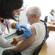 Sveikatos apsaugos viceministrė: vakar nuo COVID-19 paskiepyta rekordiškai daug žmonių