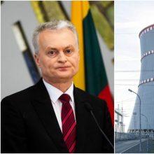 Per 160 politikų, menininkų, mokslininkų ragina G. Nausėdą ES kelti Astravo klausimą