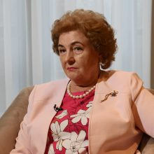 Vėžiu serganti K. Brazauskienė: mirti nebijau, bijau skausmų