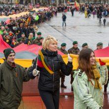 Tūkstančiai žmonių Vilniuje dalyvavo šventinėse eitynėse