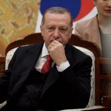 Pasaulio lyderiai, kuriais žavisi R. T. Erdoganas – D. Trumpas, V. Putinas