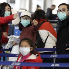 Dėl plintančio viruso URM rekomenduoja lietuviams nevykti į Kiniją