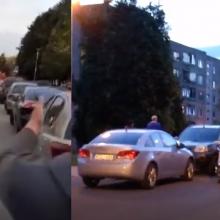 Iš kitus automobilius apdaužiusio girto vairuotojo konfiskuota mašina