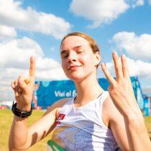 E. Adomaitytė kovos Kaune vykstančio Europos jaunių čempionato finale