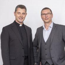 Laidą radijuje ves psichologas A. Kaluginas ir kunigas R. Doveika