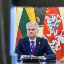 Lietuvos ir Sakartvelo prezidentai aptars situaciją šioje Kaukazo šalyje