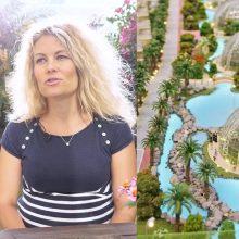 Lietuvė apie ekologišką ir futuristinį rajoną Dubajuje: gyventi čia – fantastika