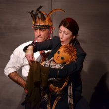 Kaune gastroliuosiantis Kutaisio teatras parodys iškiliausius repertuaro spektaklius