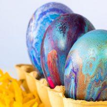 Ministerija: ne visi parduodami kiaušinių dažai yra saugūs