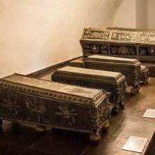 Radvilų mauzoliejuje Kėdainiuose pradėti tirti ten palaidotų didikų palaikai