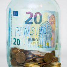 Liko daugiau nei mėnuo apsispręsti dėl pensijos kaupimo