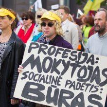 A. Monkevičius: mokytojų darbo užmokesčio didinimas – prioritetas