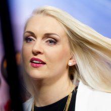 Dainininkė R. Ščiogolevaitė susilaukė penktosios atžalos