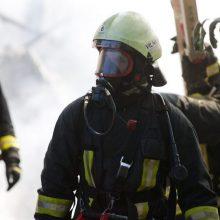 Kėdainių rajone kilo gaisras Šlapaberžės dvare