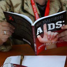 Valstybė rengiasi pirkti vaistų AIDS sergantiems kaliniams