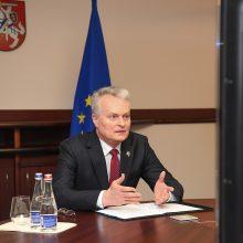 Prezidentas su komanda gilinsis į Klaipėdos krašto aktualijas