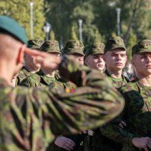 Dragūnų batalionas laukia didžiausio rezervo karių skaičiaus