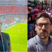 Po anglų laimėjimo futbolo čempionato pusfinalyje laidą rengiantis A. Bezekavičius patyrė košmarą