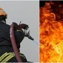 Skuodo rajone po gaisro rastas vyro kūnas