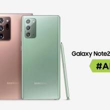 """Ar """"Samsung Galaxy Note 20"""" ir """"Note 20 Ultra"""" yra geriausi šių metų flagmanai?"""