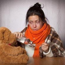 Peršalimai pajūryje kamuoja vaikus