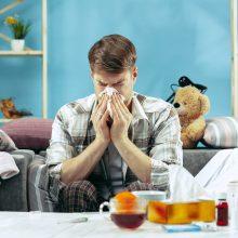 Per savaitę išaugo sergamumas peršalimo ligomis: prasčiausia situacija – Kauno apskrityje