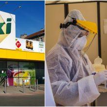 """Klaipėdoje """"Iki"""" parduotuvės darbuotojui nustatytas koronavirusas"""