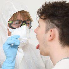 Nustatyti dar 24 nauji koronaviruso atvejai, bendras skaičius – 484