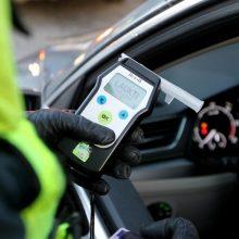 Vairuotojui Vilniuje nustatytas didesnis nei 3 promilių girtumas