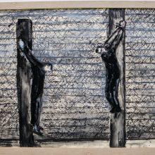 Per parodą dailininkas N. Arbit Blatas sugrįžo į gimtuosius namus