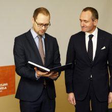 Klaipėdoje atidarytas Estijos Respublikos garbės konsulatas