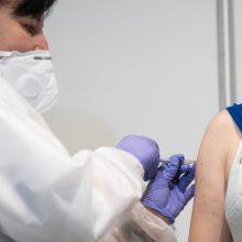 Vakcinavimo tempai savivaldybėse labai skiriasi: tarp didmiesčių vis dar pirmauja Kaunas