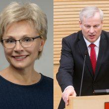 Antrajame Zanavykų apygardos rinkimų ture grumsis I. Haase ir M. Bastys
