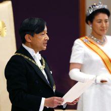Į sostą įžengęs naujasis Japonijos imperatorius Naruhito atveria naują laikotarpį