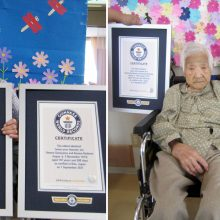 Vyriausioms identiškoms pasaulio dvynėms – 107 metai