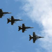 Karinių oro pajėgų šimtmečio proga rengiama didelė aviacijos šventė