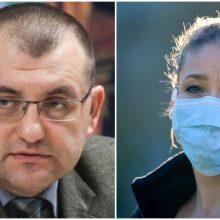 V. Kasiulevičius dalijasi tyrimų rezultatais: kaukės saugo nuo COVID–19 infekcijos