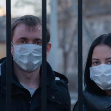 Estijoje tūkstančiai žmonių protestavo prieš suvaržymus dėl COVID-19