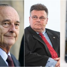 Prancūzijos prezidento J. Chiraco laidotuvėse Lietuvai atstovaus L. Linkevičius