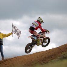 Atkakliose varžybose paaiškėjo Lietuvos motociklų kroso čempionai