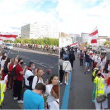 Jungtinėje Karalystėje gyvenantys lietuviai taip pat palaikė baltarusių kovą
