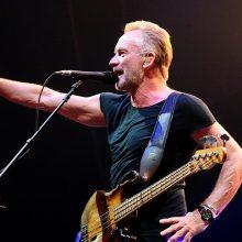 Stingas atšaukė virtinę koncertų Europoje