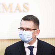 SAM kreipėsi į Generalinę prokuratūrą: trūksta apsaugos priemonių už 912 tūkst. eurų